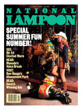 National Lampoon, July 1984 - Special Summer Fun Number! Prints