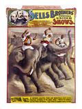 Circus Poster, C1890 Prints