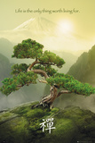 La montagne zen Affiche