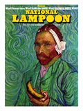 National Lampoon, October 1973 - Banana Issue, Von Gogh's Ear Prints