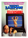 National Lampoon, April 1988 - Television Art