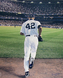 Mariano Rivera 2006 Entering The Game Color (Signed By Anthony Causi) Photographie