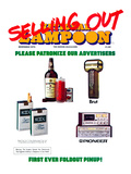 National Lampoon, December 1976 - Selling Out! Patronize Our Advertisers Poster