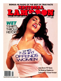National Lampoon, August 1989 - Wet T-Shirts, This T-Shirt Offends Women Planscher