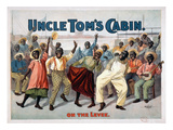 Uncle Tom's Cabin, C1899 Art