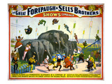 Circus Poster, C1899 Giclee Print