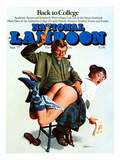 National Lampoon, September 1975 - back to College: Naughty Professor or Naughty Student Art
