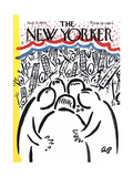 The New Yorker Cover - August 22, 1964 Giclee Print by Abe Birnbaum