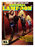 National Lampoon, April 1986 - Doctors and Lawyers Issue Posters