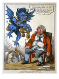 Cartoon: John Bull, C1814 Giclee Print by C. Williams