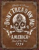 Don't Tread On Me Tin Sign