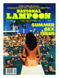 National Lampoon, June 1989 - Summer Sex Issue Prints