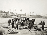 Civil War: Ambulance, 1864 Photographic Print