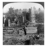 San Francisco Earthquake Giclee Print