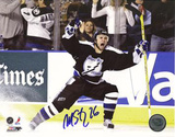 Martin St. Louis Celebrating Playoff GWG vs Islanders Photo