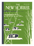 The New Yorker Cover - April 26, 2010 Premium Giclee Print by Frank Viva