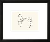 The Horse Prints by Pablo Picasso