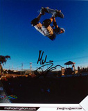 Mathius Ringstrom In Air Autographed Photo (Hand Signed Collectable) Photo