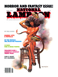 National Lampoon, June 1986 - Horror and Fantasy Issue Art