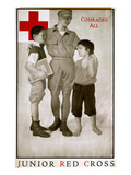 Junior Red Cross Poster Giclee Print