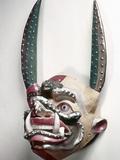 Bolivia: Native Mask Photographic Print