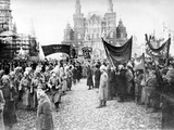 Moscow: Red Army, C1920 Fotodruck