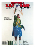 National Lampoon, April 1978 - Spring Cleaning Giclee Print