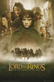 Lord of the Rings-Fellowship of the Ring Julisteet