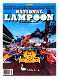 National Lampoon, April 1981 - Chaos: Race Crash for Ducks in a Row Posters