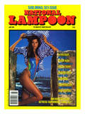 National Lampoon, June 1988 - Subliminal Sex Issue Art