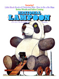 National Lampoon, July 1972 - Little Black Book of Chairman Mao, the Trojan Panda Giclee Print