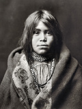Apache Girl, C1903 Photographic Print by Edward S. Curtis