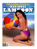 National Lampoon, July 1981 - Endless, Mindless Summer Sex with a Beach Babe on the Cover Poster