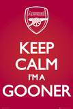 Arsenal-Keep Calm Red Plakat