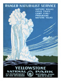 Yellowstone Poster, C1938 Art