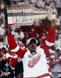 Chris Chelios Red Wings Stanley Cup Overhead Photo