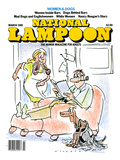 National Lampoon, March 1981 - Women and Dogs Art