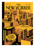 The New Yorker Cover - January 31, 2011 Premium Giclee Print by Frank Viva