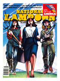 National Lampoon, August 1981 - The American Wet Dream: Women with Power Prints