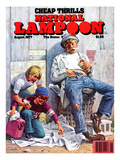 National Lampoon, August 1977 - Cheap Thrills Posters