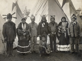 Apache Group, 1904 Photographic Print