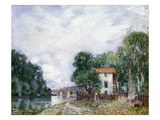 Sisley: Landscape Poster by Alfred Sisley