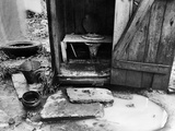 Outdoor Toilet, 1935 Photographic Print by Carl Mydans