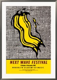 New Wave Festival Posters par Roy Lichtenstein
