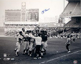 Yogi Berra Celebration with Team B&amp;W (Signed by Regan) (MLB Auth) Photo