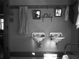 Farmhouse Washroom, 1936 Photographic Print by Russell Lee