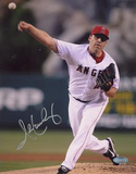 John Lackey Angels Action Photographie