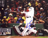 Manny Ramirez 2007 WS Game 1 RBI Single Photo