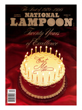 National Lampoon, December 1990 - Twenty Years of Excellence: Eat Me Posters