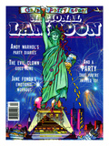 National Lampoon, December 1989 - Gala Party Issue Posters
